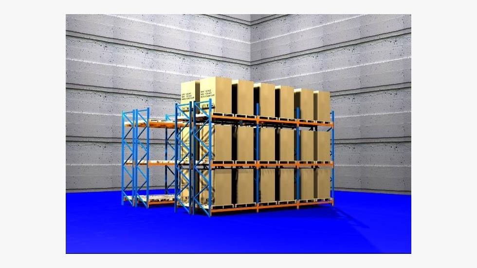 selective pallet racking (ゅよフ竚