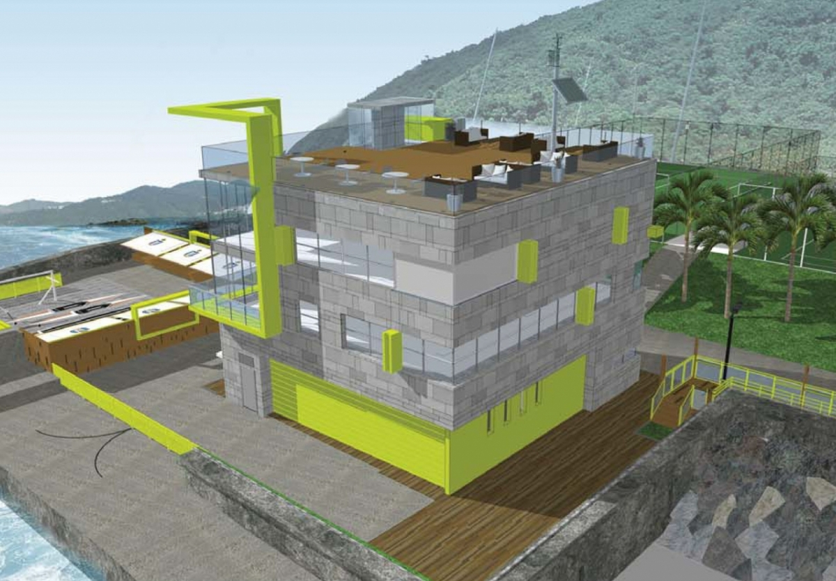 Building Services_New Build_Project Management_HKUST Boat House